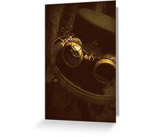 Steampunk Gentlemen's Hat 1.0 Greeting Card