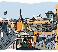 Paris by ulyanaandreeva