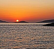 Rhodes Sunset by Tom Gomez