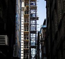 City Scaffolding by Jack Steel