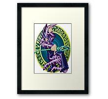 dark magician yugioh Framed Print