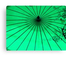 Un  parasol de papier ^ Canvas Print