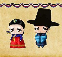 Korean Chibis by artwaste