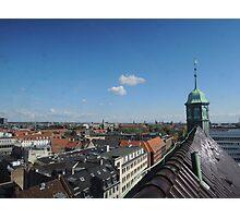 Rooftop seat: Copenhagen Photographic Print