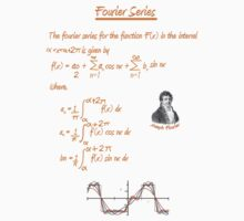 Joseph Fourier and Fourier Series Kids Clothes