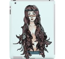 Princess with long hair iPad Case/Skin