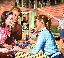Hamburger Time with Betty by Everett Day