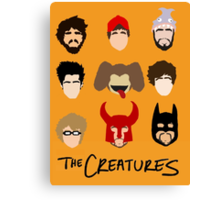 The Creatures 2014 Canvas Print