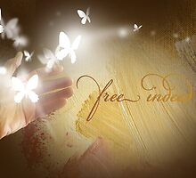 Free Indeed Glowing Butterflies by gregmack