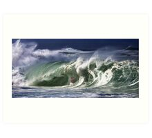 Andy Irons At 2009 Quiksilver in Memory of Eddie Aikau Contest Art Print