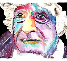 Third Doctor / Jon Pertwee by siriusreno