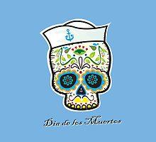 Dia de los Muertos/mexican sailor skull by mangulica