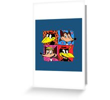 The Fab Four (Well, Two by Two) Greeting Card