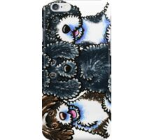 Three Water Dogs iPhone Case/Skin
