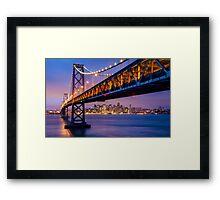 Bay Bridge Framed Print