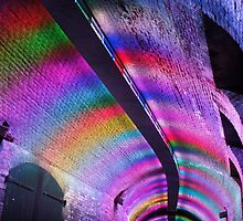 Colourfull tunnel by Lindie