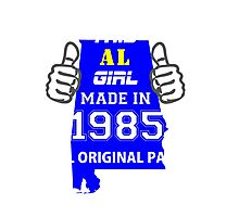 This Alabama Girl Made in 1985 Photographic Print