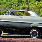 chevy impala 3 wheel by justjdmphotog