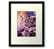 Ravy with MK's III and IV Framed Print