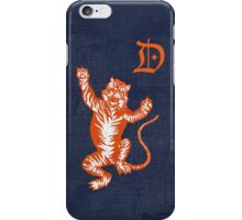 Original Detroit Tigers Logo (Unofficial) iPhone Case/Skin