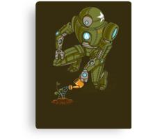 Eco-Robo Unit  #24 Canvas Print