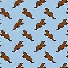 Cute Otter pattern by jezkemp