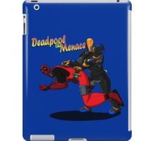 Deadpool the Menace iPad Case/Skin