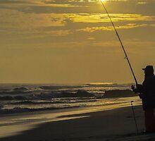 Fisherman. by Bette Devine