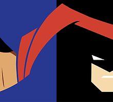 Superman vs Batman by geekdesigner19