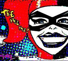 Tee Hee Hee! / Harley by Ceci  Valdez