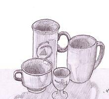 'Mugs' still life  by JayJay70