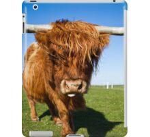 Highland Moo! iPad Case/Skin