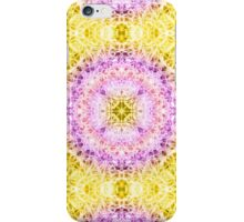 """Spirit of India: Fleur-Crown"" in rose, purple ang yellow iPhone Case/Skin"