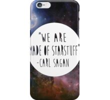 We Are Made of Starstuff iPhone Case/Skin