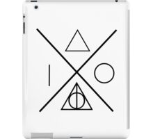 Together they make one the master of death iPad Case/Skin