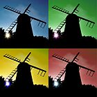 Windmill Silhouettes by Andrew Pounder