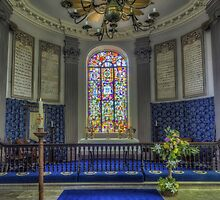 Welsh Church by Ian Mitchell