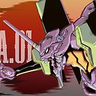 Eva unit 01 - Background by Nomad56641