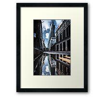 Inclination - London Lights Framed Print