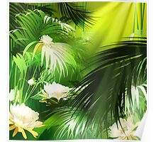 Tropical Bloom Poster