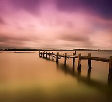 Old jetty 01 by kevin chippindall