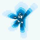 Mega man falling by kennypepermans