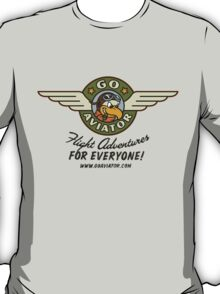GoAviator - Flight Adventures for Everyone (Wings) T-Shirt