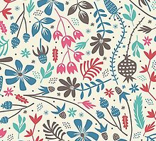 Retro Floral Pattern by sale