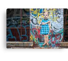 In a Tagged World Canvas Print