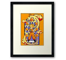 Legend of the Dragonballs Framed Print