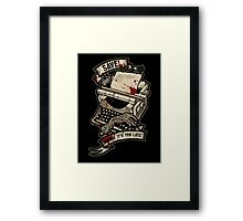 Save Before It's Too Late Framed Print