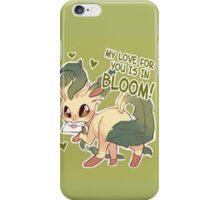 Leafeon Love iPhone Case/Skin