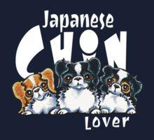 Japanese Chin Lover (Dark) Kids Clothes
