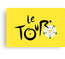 Le Tour de Yorkshire Canvas Print